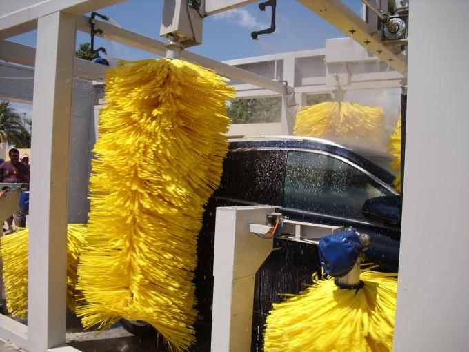 CE ISO9001 Fully Automatic Professional Car Wash Systems Maintenance Free