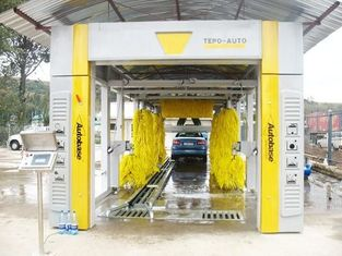 Cina CE ISO9001 swing arm Automatic Car Wash Machine streamline cleaning principle pemasok