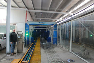 Cina Hydraulic Conveynor of USA car wash system Autobase-AB-120 pemasok