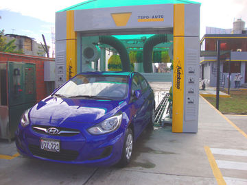 Cina Professional carwash equipment car wash tunnel systems CE ISO9001 pemasok