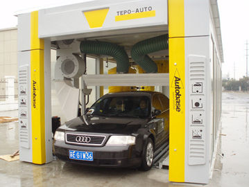 Cina TEPO-AUTO high end automated car wash equipment washing speed quickly pemasok