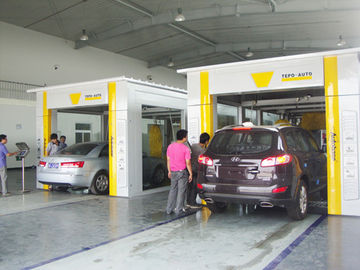 Cina TEPO - AUTO Car Wash Tunnel Equipment, Advanced Automated Car Wash Systems pemasok