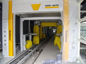 Cina Advanced TEPO-AUTO Express Car Wash Tunnel is the T - series products pemasok