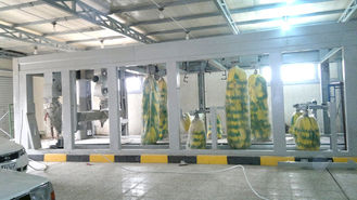 Cina Hot Galvanized Steel Tunnel Car Wash System Profession For Washing Vehicles pemasok