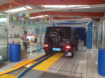 Cina USA Autobase Tunnel Car Wash Equipment with Germany Brush pemasok