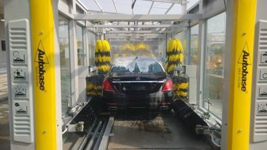 Cina CE / ISO9001 Express Car Wash Tunnel With Tepo Auto Upgrade Technology pabrik
