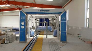 Cina AUTOBASE automated car wash systems , AB -80 tunnel express car wash pabrik