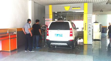 Cina Autobase Wash Systems For Saloon Car , Jeep , Mini Microbus , Taxi And Box Type Vehicle Under 2.1m pabrik