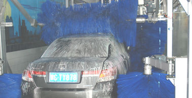 Cina AUTOBASE automated car wash tunnel systems innovative mode easier to use pabrik