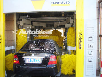 Cina TEPO-AUTO TUNNEL CAR WASH with high speed washing 60-80 cars per hour pabrik